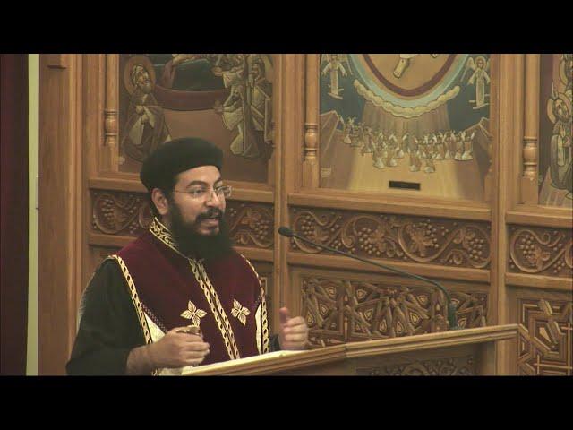 Saint Abba Shenouda (Shenoute) the Archimandrite  (Arabic Sermon) Fr. Rewes Antoun