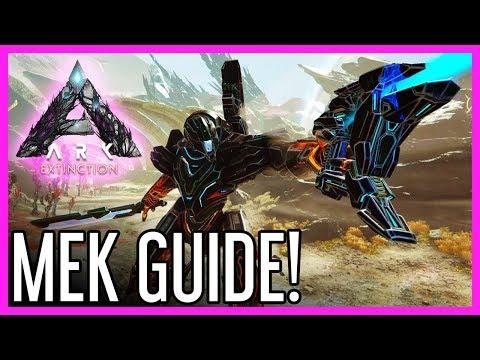 Mek Guide for ARK: Extinction
