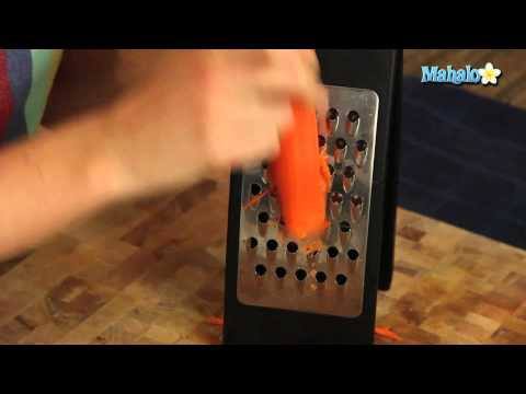 How to Grate or Shred a Carrot
