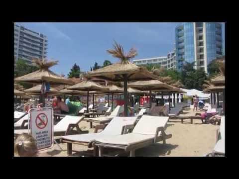 Отдых в Болгарии. Золотые Пески - Пляжи