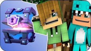 BABIES OPEN CHESTS OF CLASH ROYALE | WHO'S YOUR DADDY MINECRAFT + ROLEPLAY OPENING CHESTS