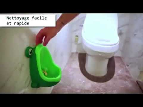Vert LQNB 1X Amusant Pot Enfant urinoir en forme de Grenouille