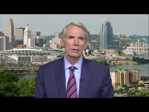 7/29/16 Sen. Rob Portman (R-OH) delivers GOP Weeky Address on the opioid crisis