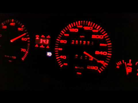 Audi V8 ABH Autom. 280 PS Autobahnfahrt