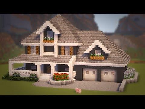 Видео майнкрафт как сделать красивый дом фото 696