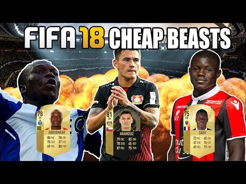 FIFA 18: 5 Cheap BEASTS You Should Buy NOW!