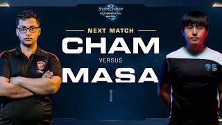 Cham vs MaSa ZvT - Round of 8 - WCS Winter Americas