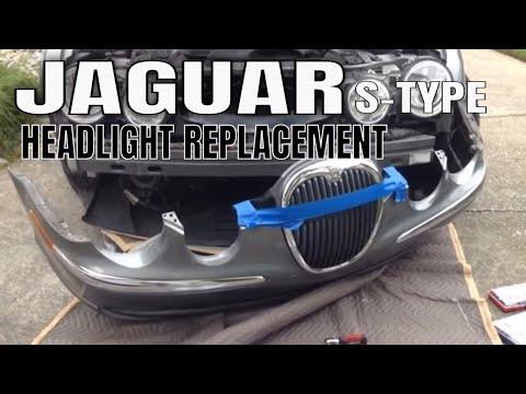 Jaguar S Type Headlight Repair : HID Replacement