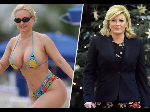 President of Croatia Kolinda Grabar-Kitarovic #Viral bikini photos# Real Facts