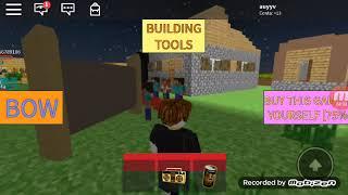 Minecraft avec le Roblox mélangé dans le hum nu vidéo Ta continue