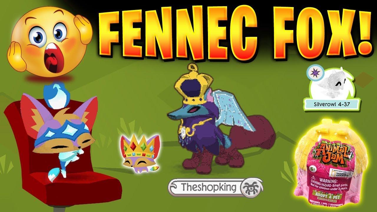 FINALLY GOT A PET FENNEC FOX 🦊 ON ANIMAL JAM! - YouTube
