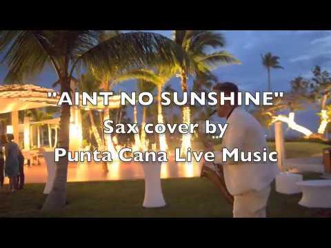 Blue Beach Punta Cana, wedding & Cocktail hour saxophonist