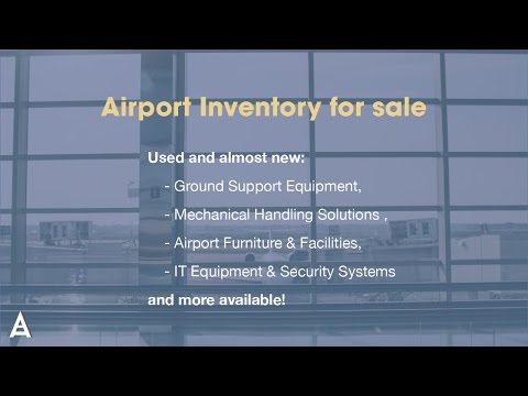 Airport Equipment For Sale | Airport Suppliers | Manufacturers [HD]