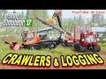 Farming Simulator 2017 Mods - Hauling Road Train & Easy Logs Load (No Auto-load)
