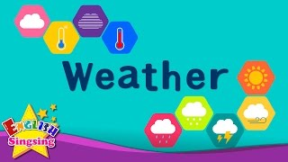 Kids vocabulary - Weather - How