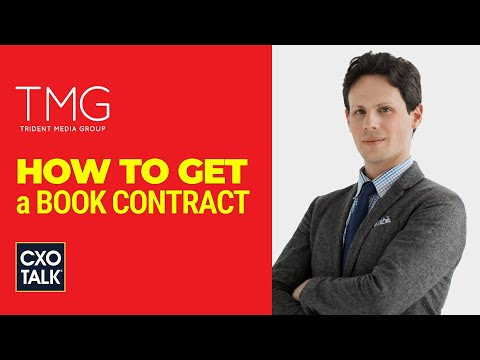 How To Get A Book Publishing Contract (CxOTalk #358)