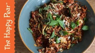 Spaghetti Bolognese - 5 minute dinner - Vegan