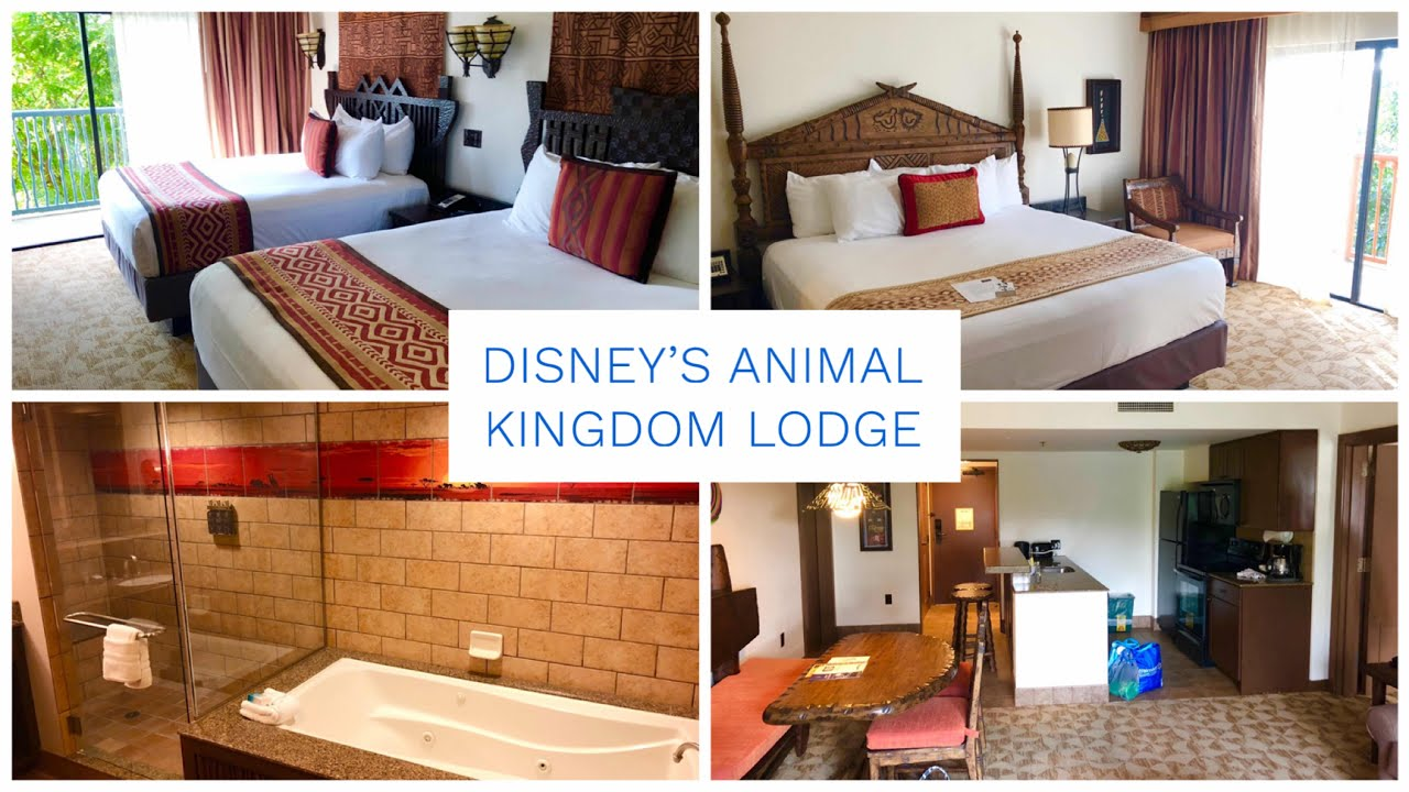 Disney's Animal Kingdom Lodge - Two Bedroom Villa Tour - Kidani Village DVC