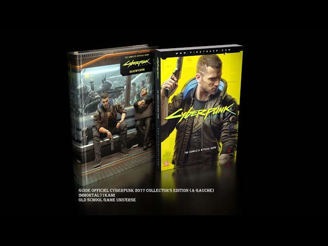 CYBERPUNK 2077 GUIDE OFFICIEL EDITION COLLECTOR [UNBOXING/PRESENTATION]