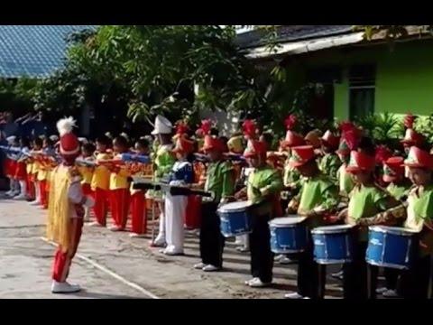 LAGU INDONESIA RAYA DRUMBAND ANAK ANAK