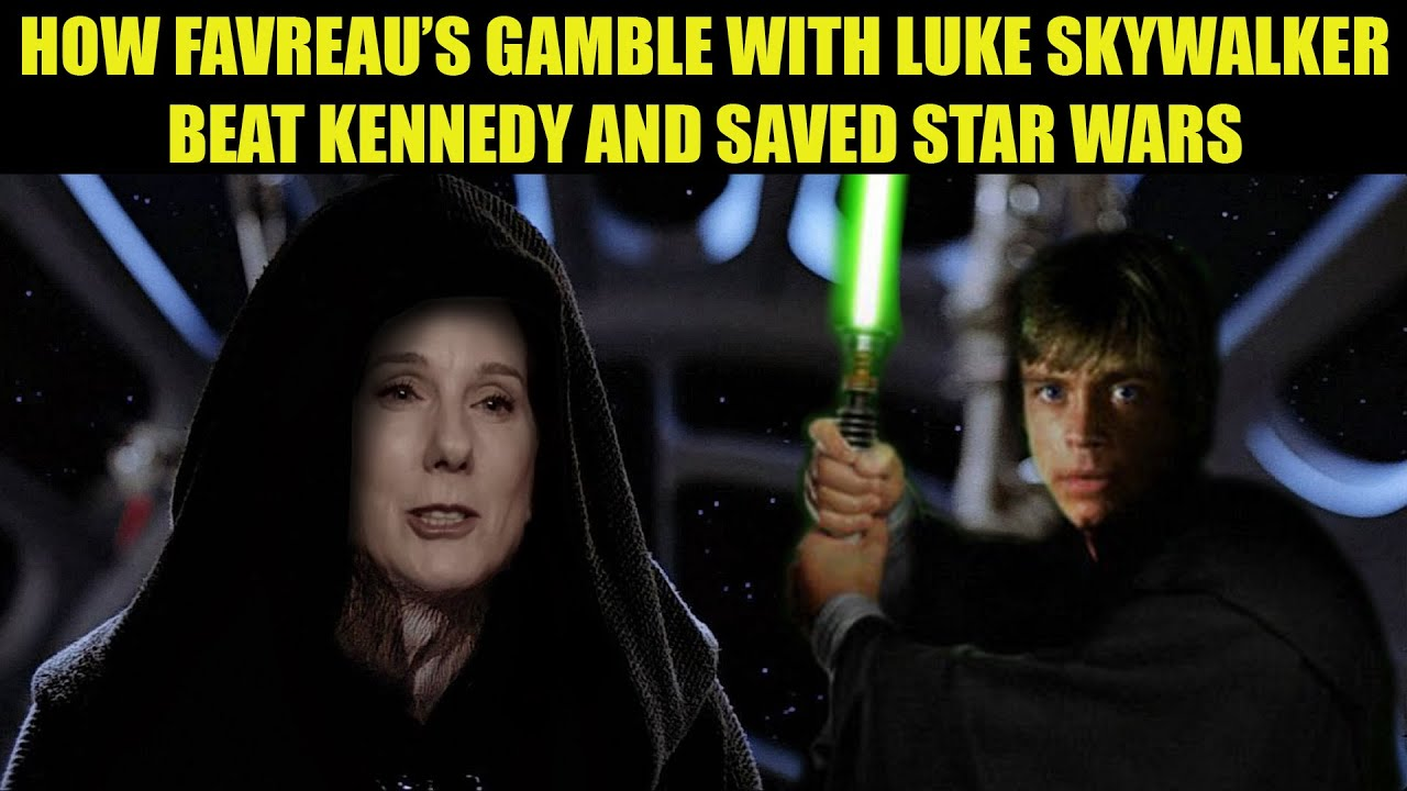 Star Wars Rumor   How Favreau BEAT Kennedy at Her Own GAME and Saved Star Wars!