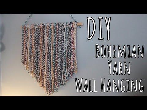 diy-|-bohemian-yarn-wall-hanging
