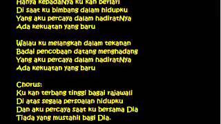 Franky Sihombing - Bagai Rajawali (Lyrics)