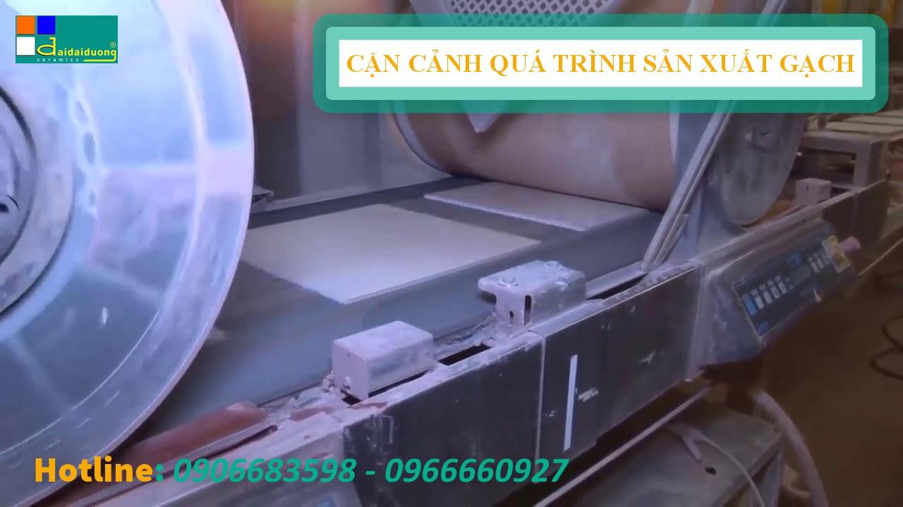 Quá Trình Sản Xuất Gạch Ceramic Gây Ấn Tượng