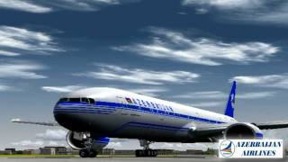 Azerbaijan Airlines B777-300ER / Baku-Heathrow *UBBB-EGLL*