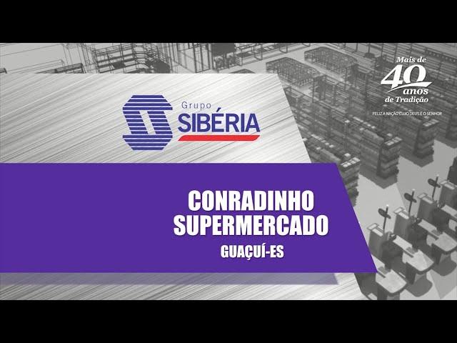 Loja Inaugurada - Supermercado Conradinho - Guaçuí-ES