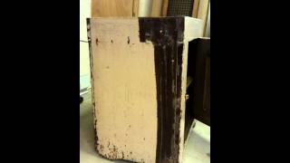 Antique Restoration Of Painted Dry Sink. Part 1