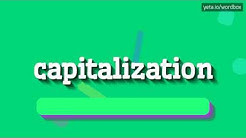 CAPITALIZATION - HOW TO PRONOUNCE IT!?