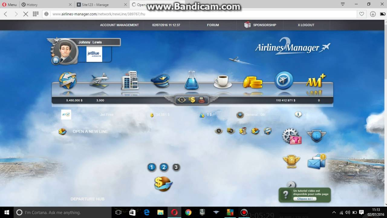 How to make money in airline manager facebook youtube.