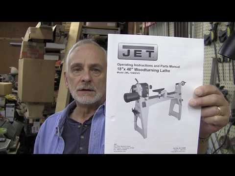 Jet 1840 Lathe Review