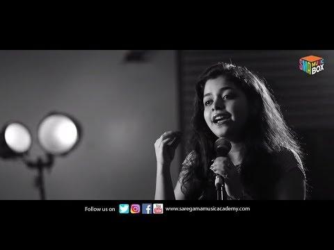 Dhadak || Title Track || Cover || Anushka Banerjee || Saregama Music Academy
