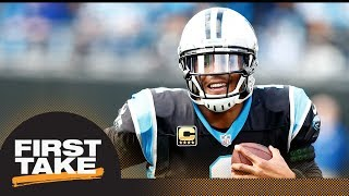 Max says Cam Newton should be NFL MVP candidate | First Take | ESPN