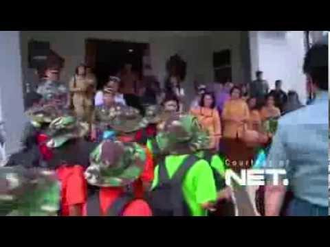 Ketika Ibu Ani Mengajak 200 Anak Sekolah ke Museum TNI