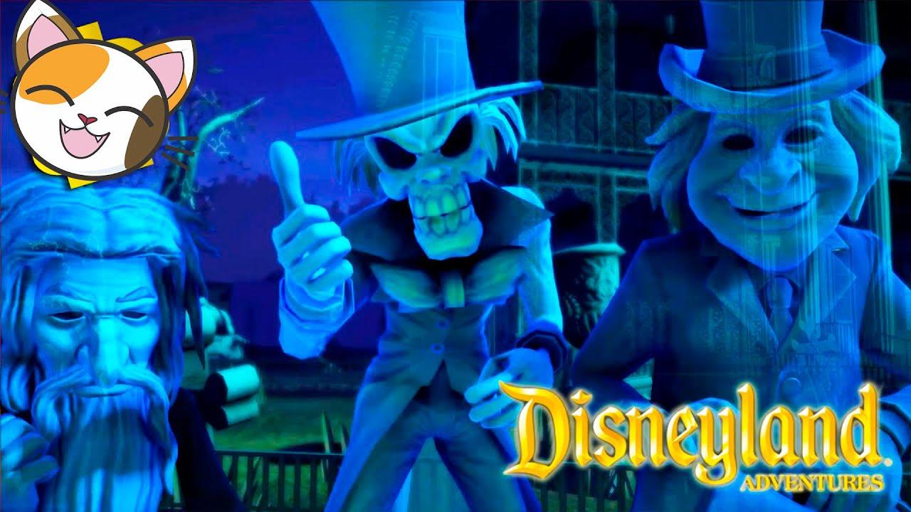 الحلقة ١ Disneyland Adventures بيت مسكون انجليزيه - هالووين الشبح كرتون العاب مدبلجة مترجم
