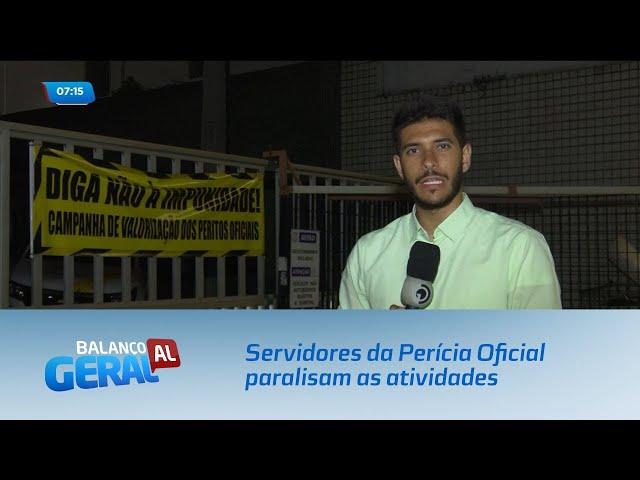 Servidores da Perícia Oficial paralisam as atividades por tempo indeterminado