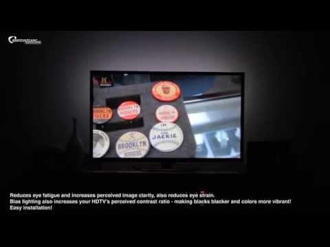 Antec Soundscience USB Powered HDTV Bias Backlighting Demo