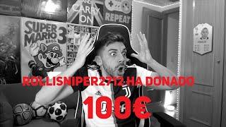 UN NIÑO ME DONA 100€ EN DIRECTO
