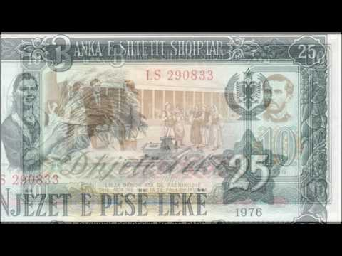 Currencies of the World: Peoples Socialist Republic of Albania; Albanian Lek (1976)