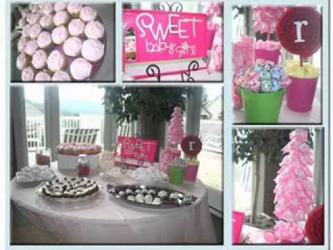 diy baby shower table decorating ideas youtube