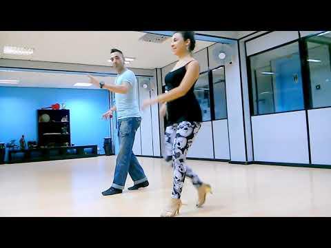 Salsa Footwork: Tibidi-tibidi/Point Spin/Colombianas~