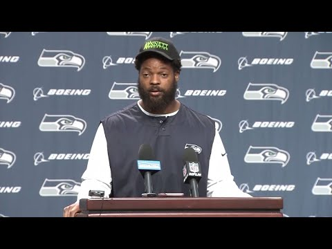 RAW: Seattle Seahawks Defensive End Michael Bennett Discusses Incident With Las Vegas Police Officer