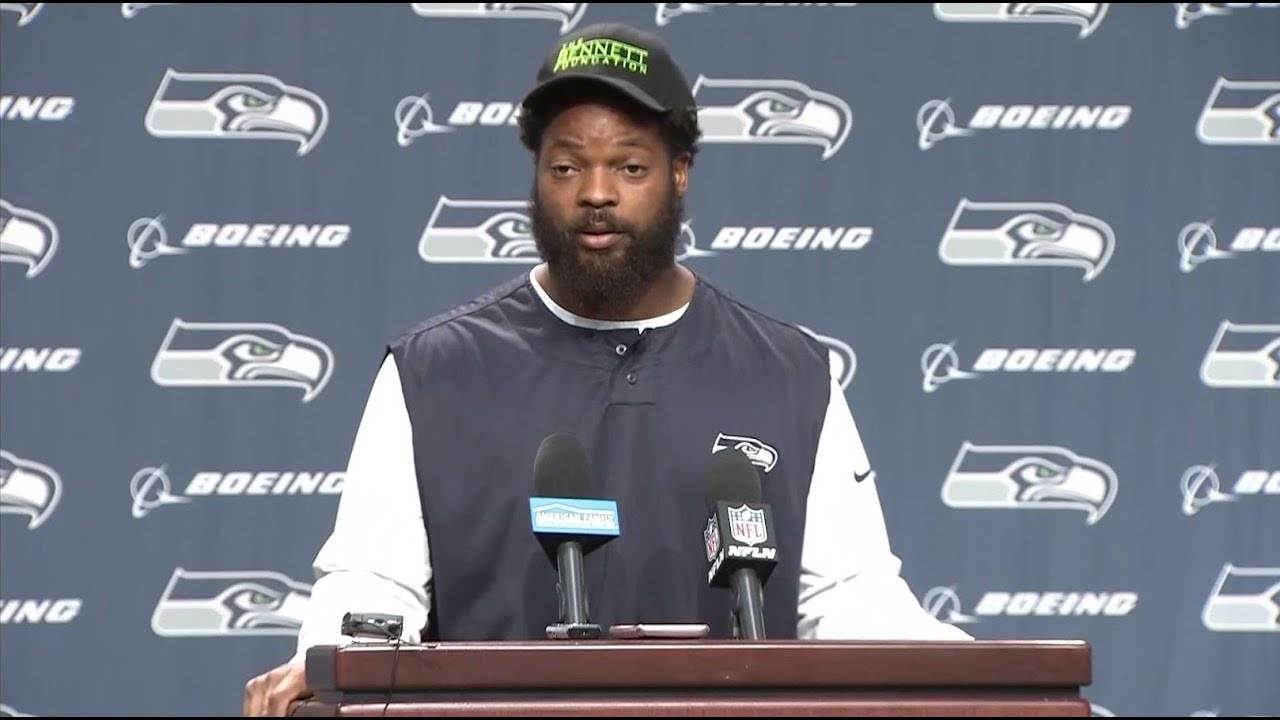 RAW: Seattle Seahawks Defensive End Michael Bennett Discusses ...