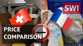 Gambar cover Switzerland vs France – the shopping basket price challenge