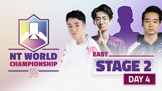 NTWC STAGE 2 | DAY 4 | EAST | BRACKET SEMI-FINAL AND FINAL
