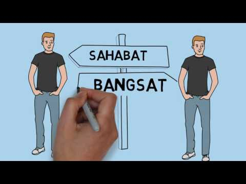 SaSat 'Sahabat Bangsat' - Teguh PP (Official Lyrics Video)