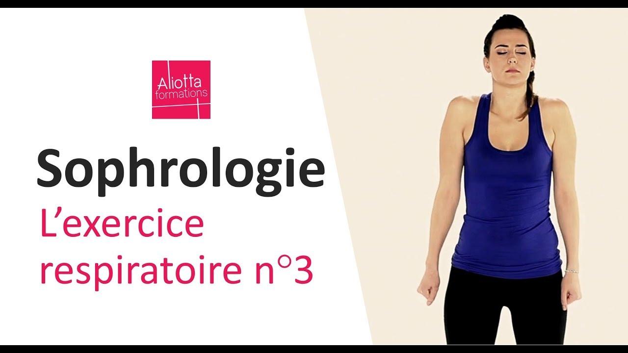 Sophrologie : exercice respiratoire n°3